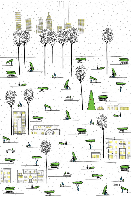 Wrapping Paper Design to Wrap Up Homelessness
