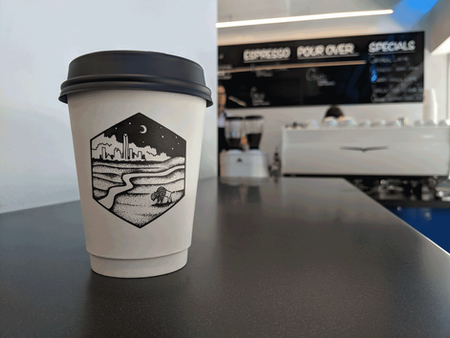 Clarity Coffee Cup Design