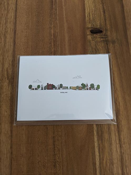 Roseland - greeting card