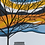 Thumbnail: Tree Blue Yellow Orange - print