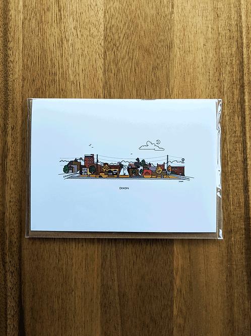 Dixon - greeting card