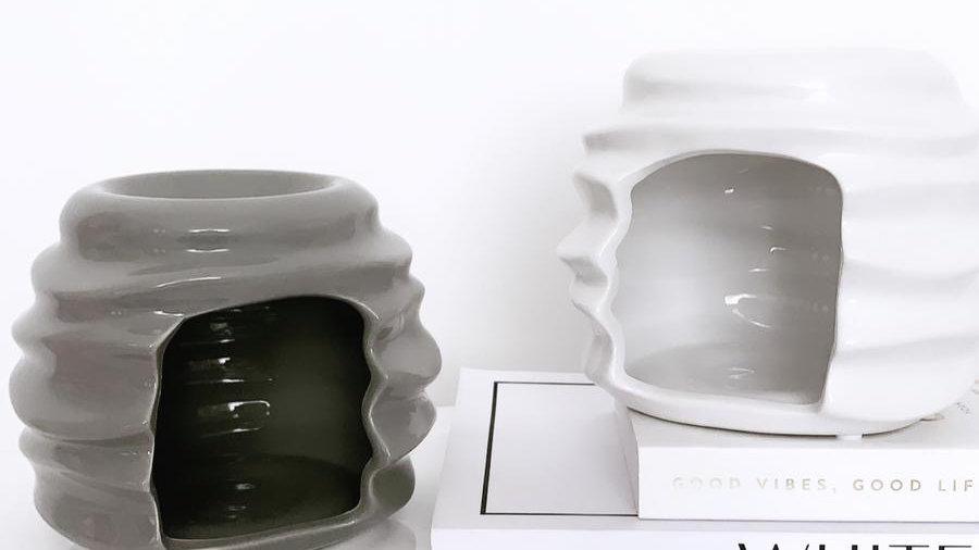 Ceramic Alfie Burner- Chrome