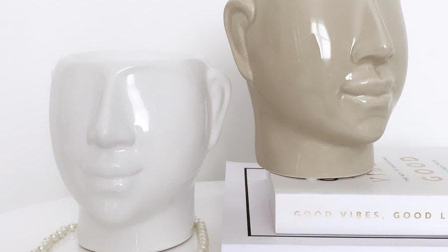 Ceramic Otis Burner - Nude