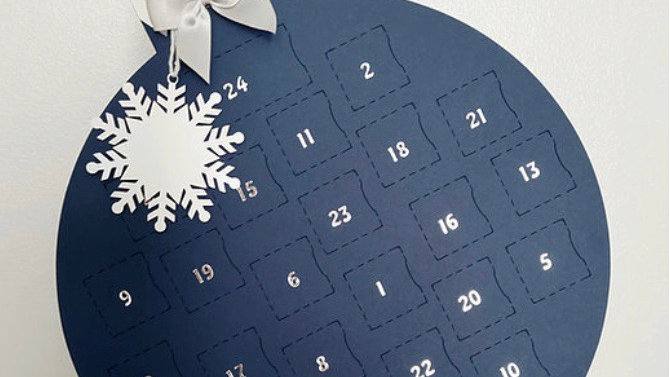 Christmas advent calendar - DEPOSIT