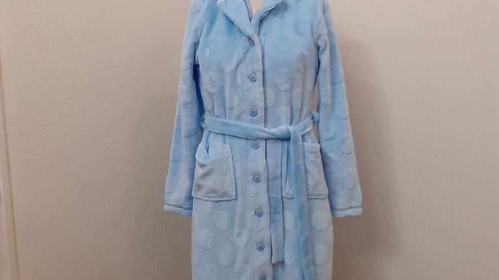 robe de chambre boutonné S à 2XL