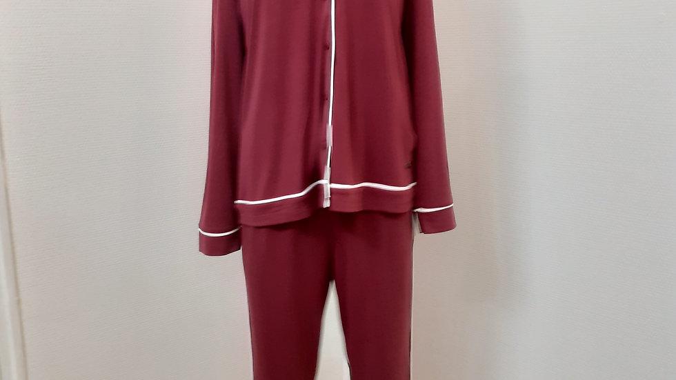 pyjama bordeaux T 44 et 50