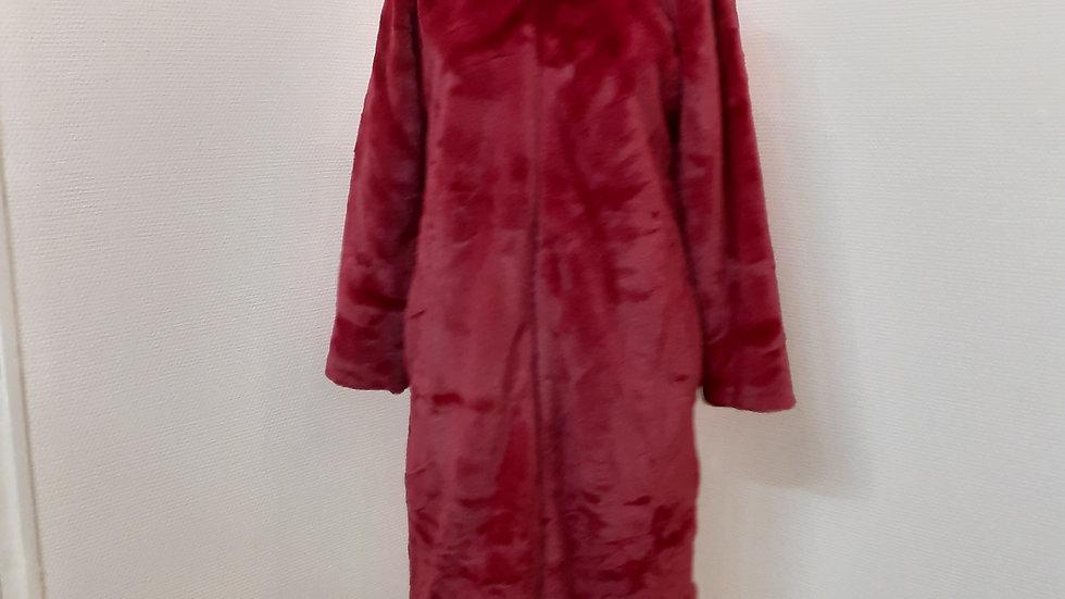 robe de chambre zippé S à XL