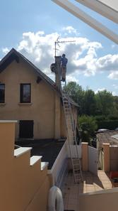 Changement de chaudière et gainage de cheminée