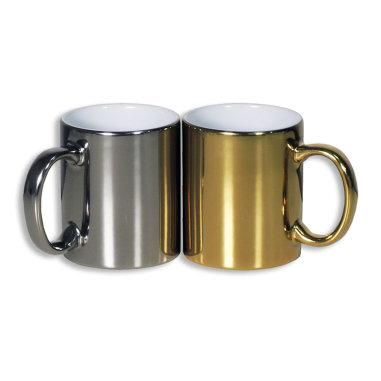 Taza con brillo personalizable