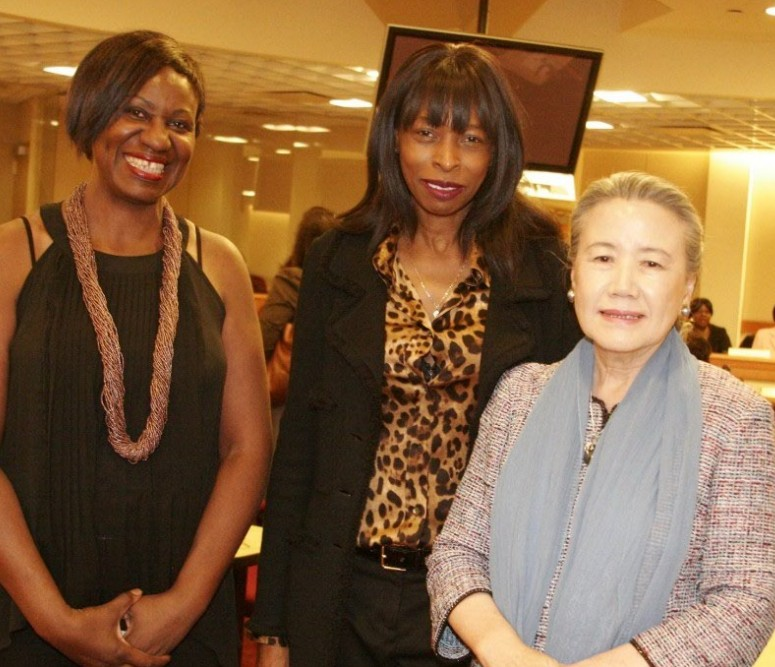 With Mrs ban Ki Moon