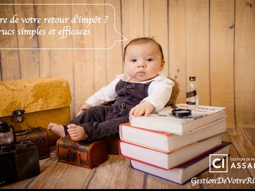 Que faire de votre retour d'impôt ? 3 trucs simples et efficaces