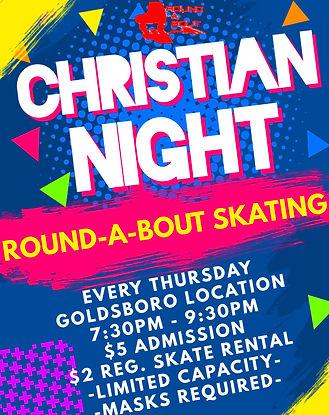 Christian Night Goldsboro - Made with Po