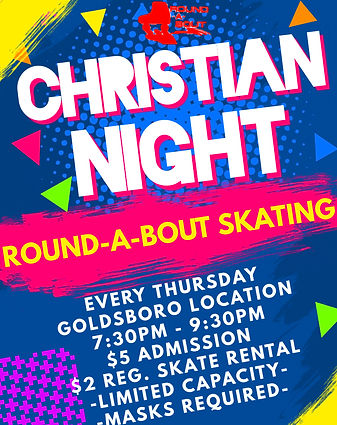 Christian Night Goldsboro - Made with Po