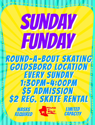 Sunday Goldsboro - Made with PosterMyWal