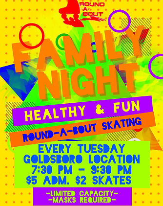 Family Night Goldsboro - Made with Poste