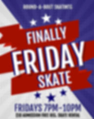 Finally Friday Skate - Made with PosterM