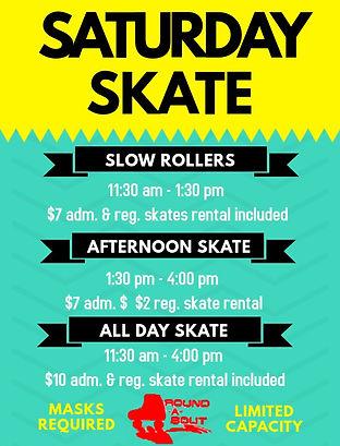Saturday Skate
