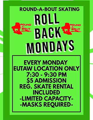 ROLL BACK EUTAW - Made with PosterMyWall