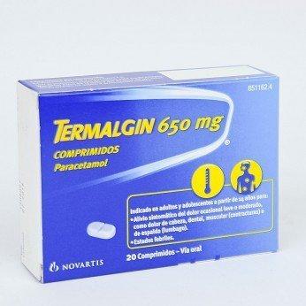 Termalgin650 Mg 20 Compr
