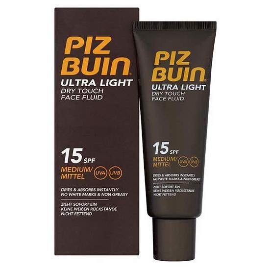 Piz Buin Fps -15 Ultra Lproteccion Solar Facial