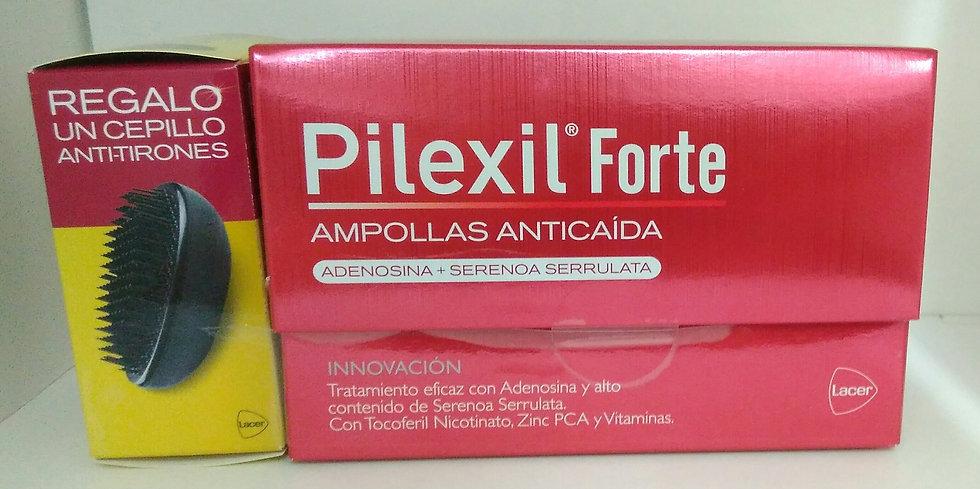 Pilexil Forte Ampollas Anticaida+Cepillo Regalo