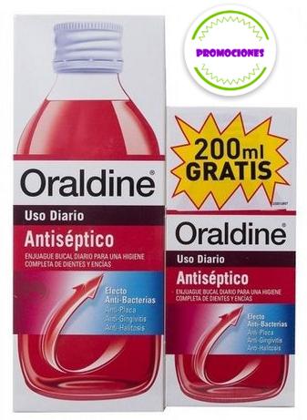 Oraldine Antisepticopack 400 Ml +200 Ml