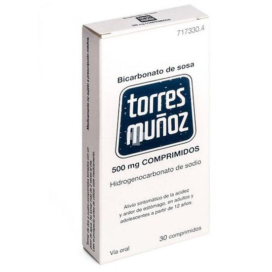 Bicarbonato De Sosa Torr500 Mg 30 Compr