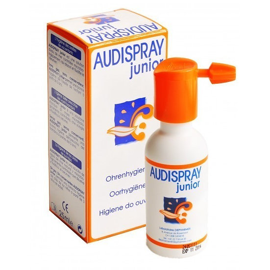 Audispray Junior Solulimpieza Oidos 25 Ml