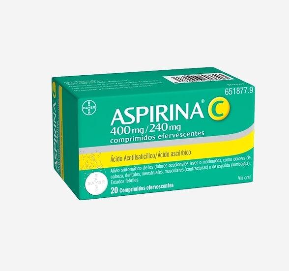 Aspirina C400 Mg/240 Mg 20 Compr E