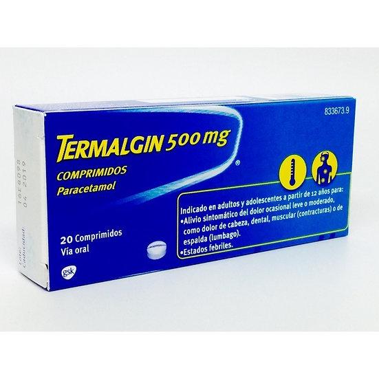 Termalgin500 Mg 20 Compr