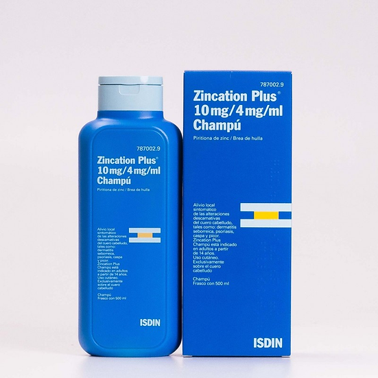 Zincation Plus 10 Mg/Mlal 1 Fr 500 Ml