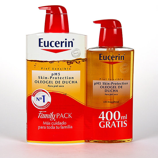 Pack Eucerin Oleogel Ducha+Oleo Gel Ducha400Ml