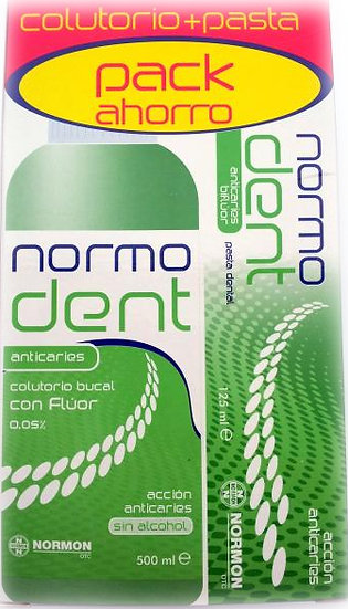 Normodent Anticaries Pac500 Ml + 125