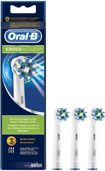 Recambio Dental Electrico Oralbcross Action 3 Ca
