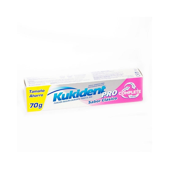 Kukident Pro Complete70Gr Sabor Clasico