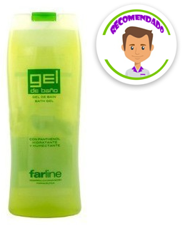 Farline Gel De Baño Aloe750 Ml
