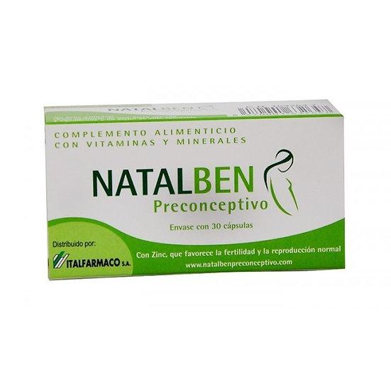 Natalben Preconceptivo30 Caps