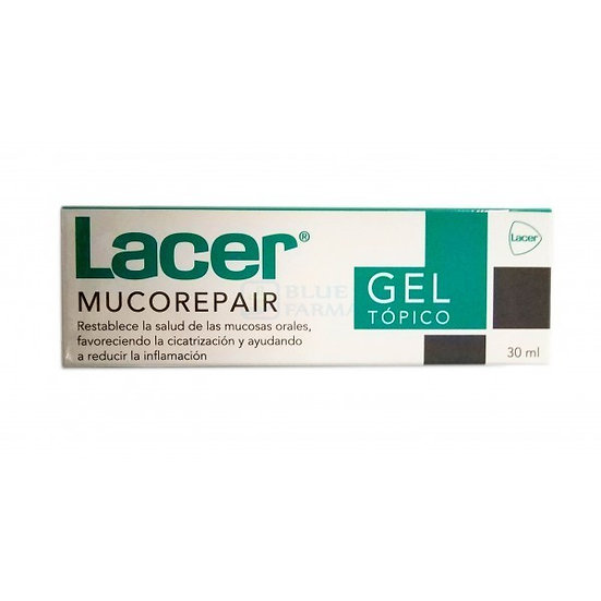 Lacer Mucorepair Gel Top30 Ml