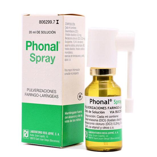 Phonal Spray Solu Para P1 Env 20 Ml