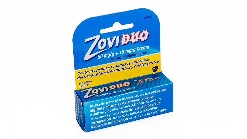 Zoviduo50 Mg/G + 10 Mg/G Crema