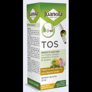 Juanola Tos Spray Bucalsabor Miel Mentolada 120
