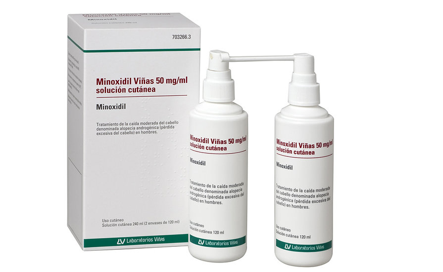 Minoxidil Viñas50 Mg/Ml Solu Cutanea 2