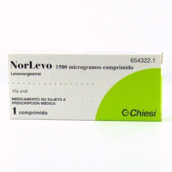 Norlevo1,5 Mg 1 Compr