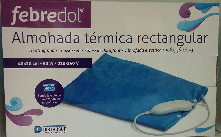 Almohada Termicafebredol Rectangular