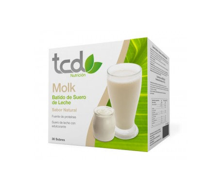 Tcd Molk Sabor Naturalproteinada 30 Sobr