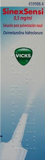 Sinexsensi0.5 Mg/Ml Nebu Nasal 15