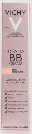 Idealia Bb Cream Spf 25Tono Claro 40 Ml