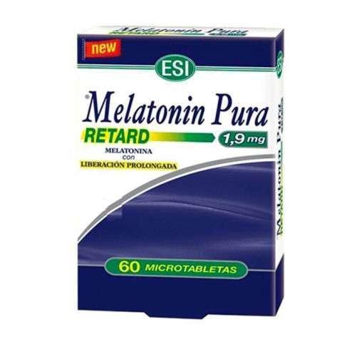 Melatonin Retard Tab1.90 Mg 60 Tabletas