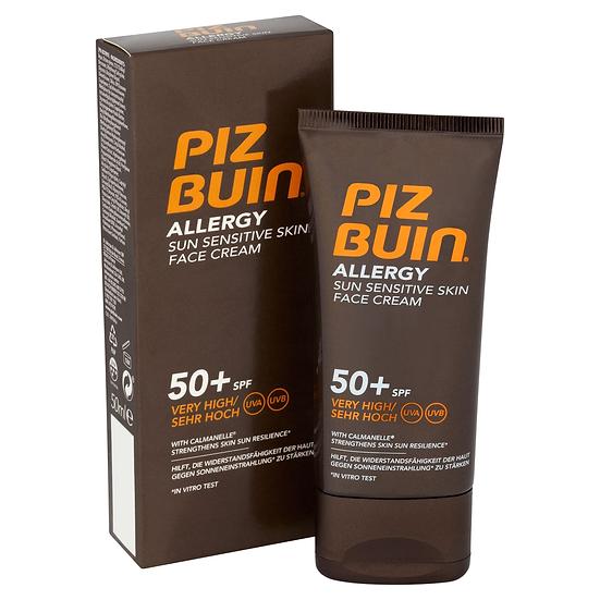 Piz Buin Allergy Fps - 5Crema Facial 50 Ml
