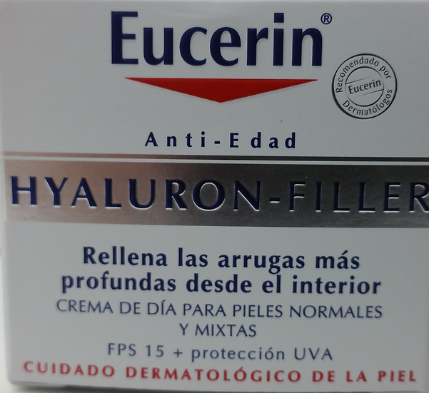 Hyaluron Filler Crema Dia Piel Normal/Mixta 20Ml